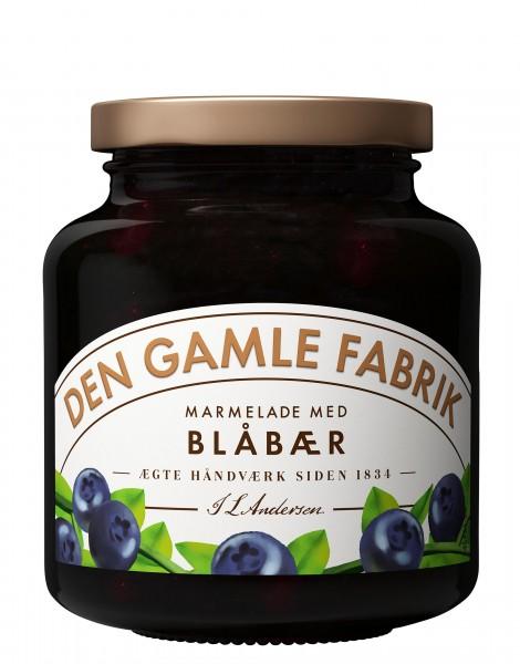 Den Gamle Fabrik Marmelade Blåbær