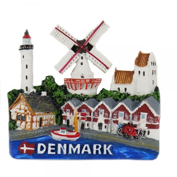 Memories of Denmark Magnet Dänemark Motiv