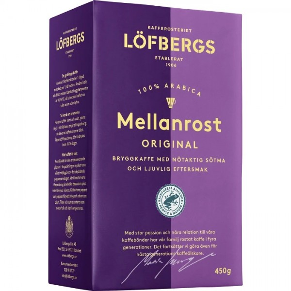 Löfbergs Bryggkaffe Mellanrost