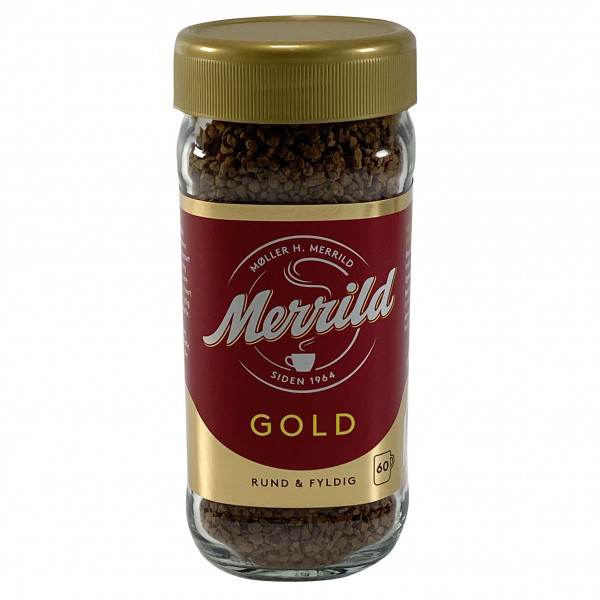 Merrild Gold Instant Kaffee 100g