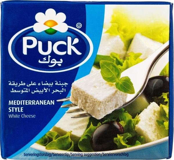 Puck mediterraner weißer Käse