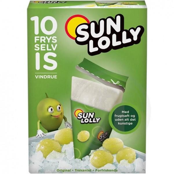 Sun Lolly - Sunquick Wassereis Weintraube