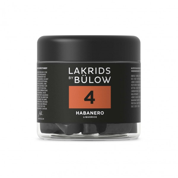 Lakrids by Bülow No. 4 - Habanero Small