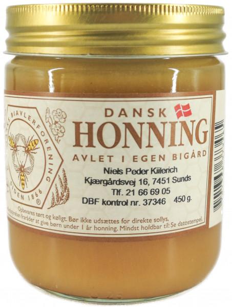 Dänischer Heidehonig aus Jütland im Glas