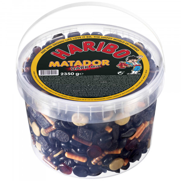 Haribo Matador Dark Mix 2350g