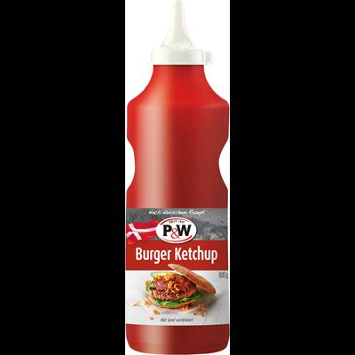 P&W Dänischer Burger Ketchup große Flasche
