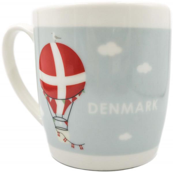 Tasse Dänischer Heißluftballon