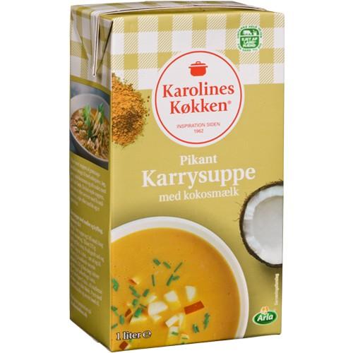 Karolines Køkken Pikante Currysuppe