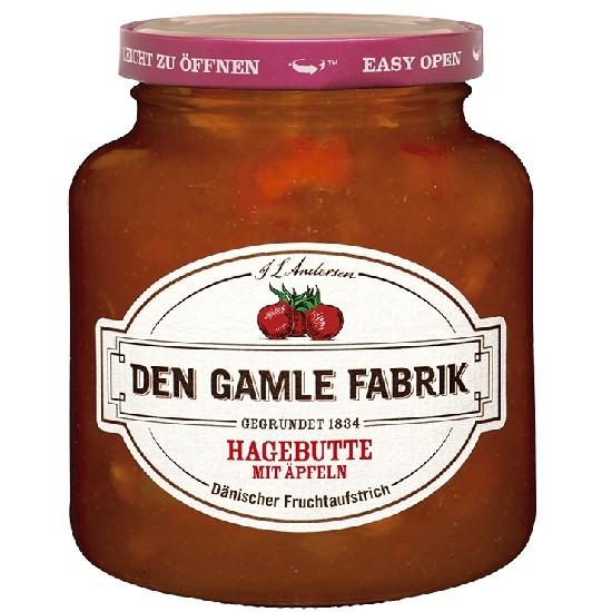 Den Gamle Fabrik Marmelade Hagebutte & Apfel 380g