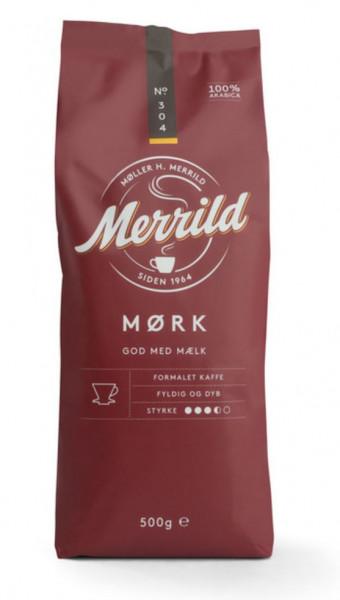 Merrild Mørk 304 Kaffee