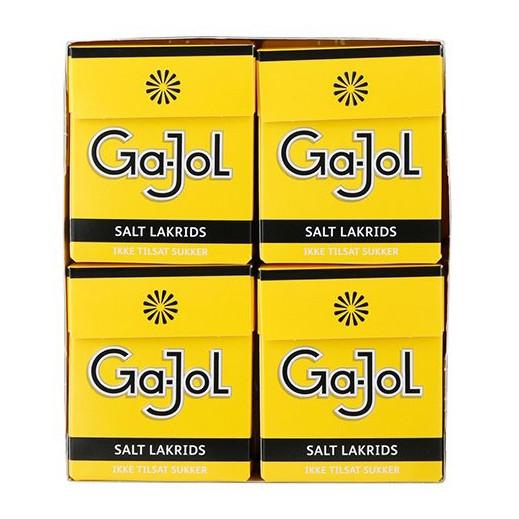 GaJol Salt Lakritz Gelb 8er Pack
