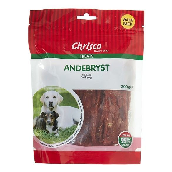 Chrisco Entenbruststreifen für Hunde