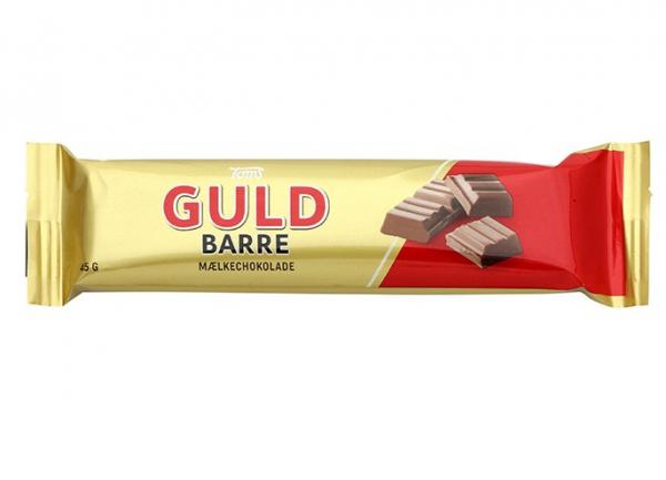 Toms Guld Barre Mælkchokolade