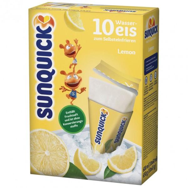 Sun Lolly - Sunquick Wassereis Zitrone