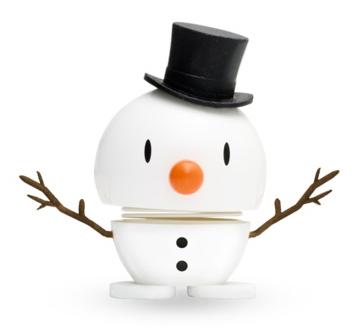 Hoptimist Small Snowman