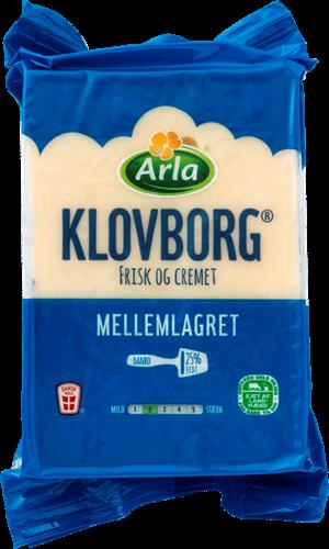 Arla Klovborg Mellemlagret 25%