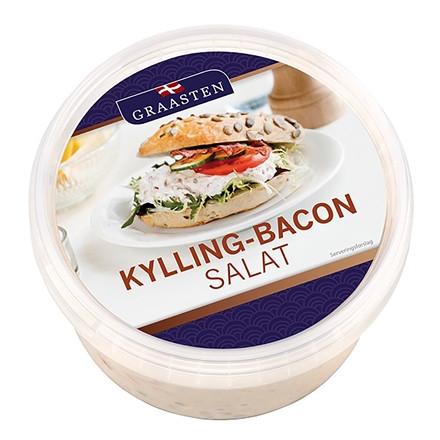 Graasten Hühnersalat mit Bacon