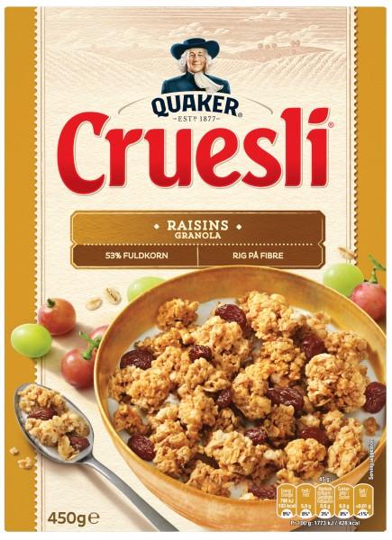 Quaker Cruesli Raisin