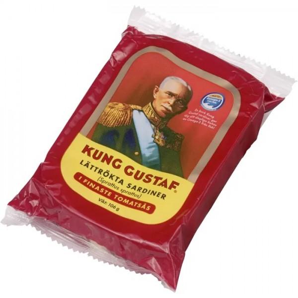 Kung Gustaf Lättrökta sardiner