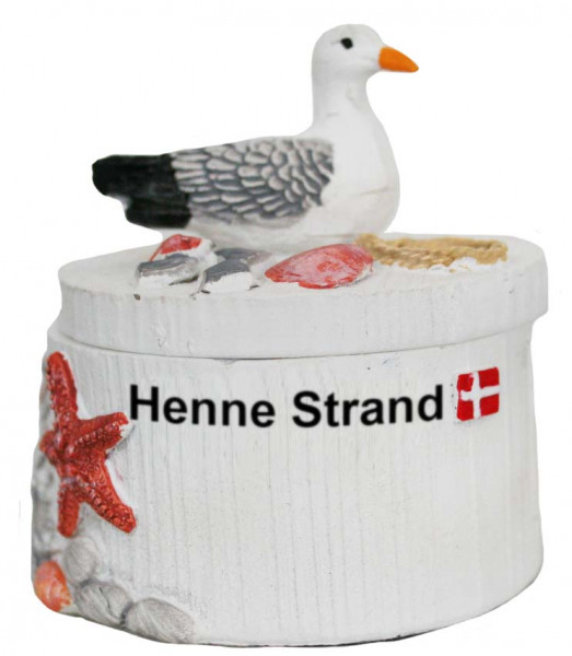 Maritimes Schmuckkästchen Henne Strand