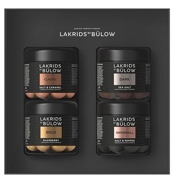 Lakrids by Bülow BLACK BOX - CLASSIC/DARK/GOLD/SNOWBALL