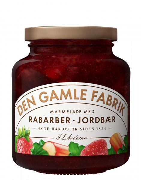 Den Gamle Fabrik Marmelade Rhabarber & Erdbeere