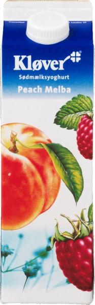 Kløver Jogurt Pfirsich-Melba