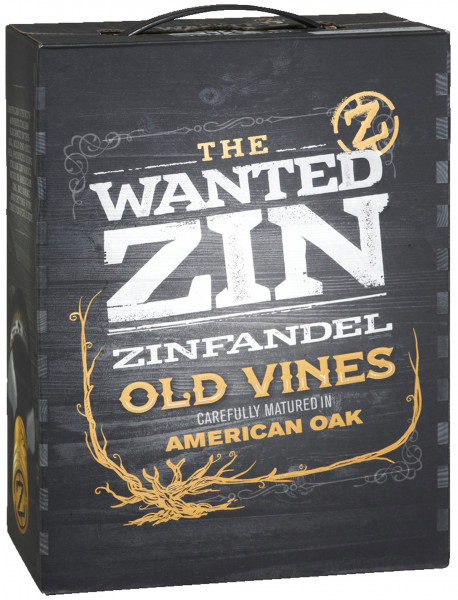 The Wanted Zin Zinfandel Old Bag-in-Box