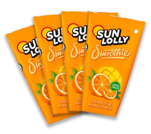 Sun Lolly Smoothie 4er Pack - Orange Mango