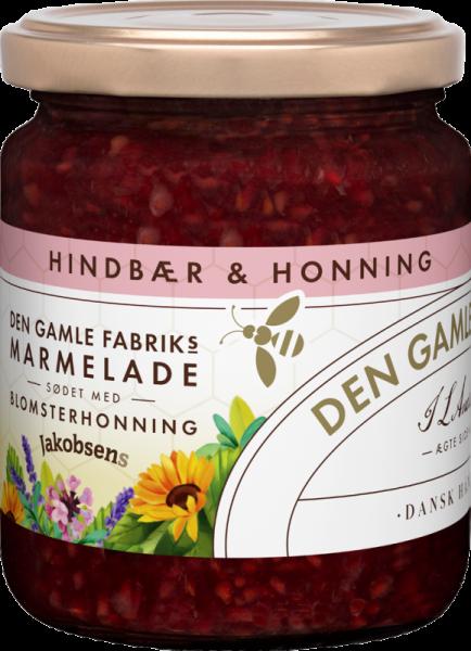 Den Gamle Fabrik Marmelade Himbeere mit Blütenhonig