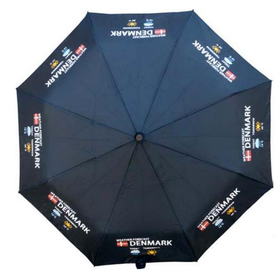 """Memories of Denmark Regenschirm """"Weather Forecast"""""""