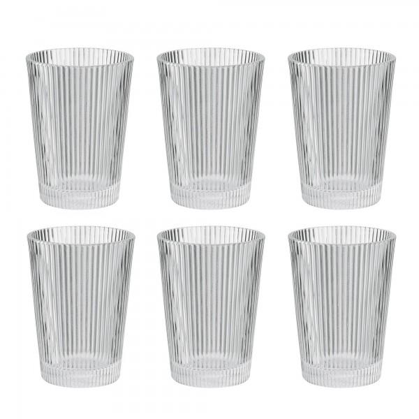 Stelton Pilastro Trinkglas (6er-Set)