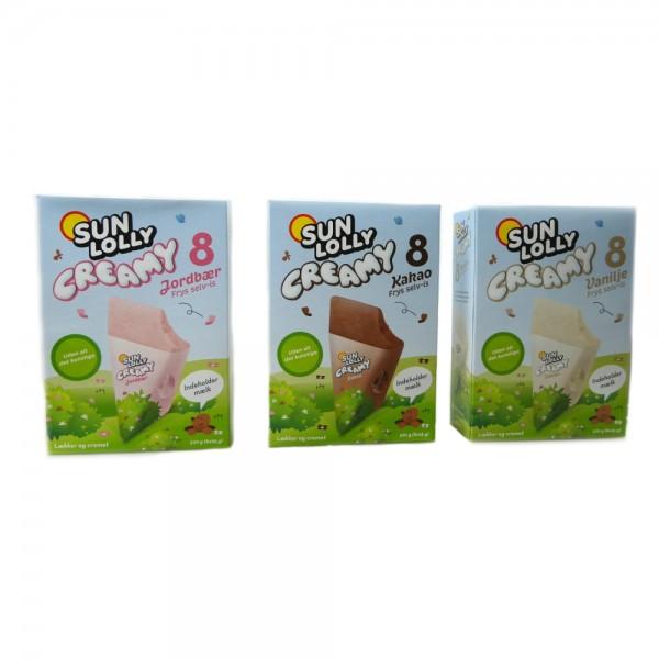 Sun Lolly Creamy Eis