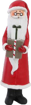 Det Gamle Apotek Weihnachtsmann mit Geschenken