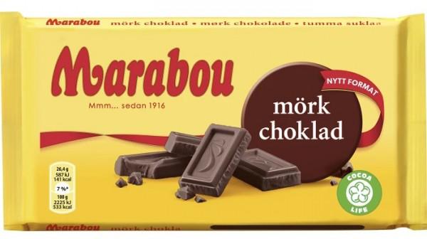 Marabou mörk choklad – dunkle Schokolade