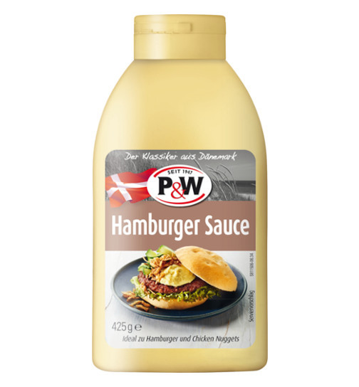P&W Hamburger Sauce 425g