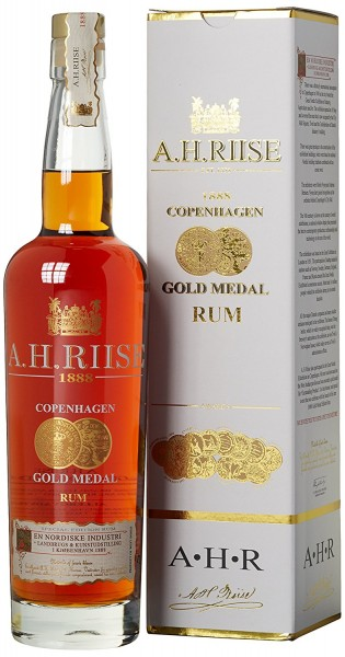 A. H. Riise Rum 1888 Gold Medal