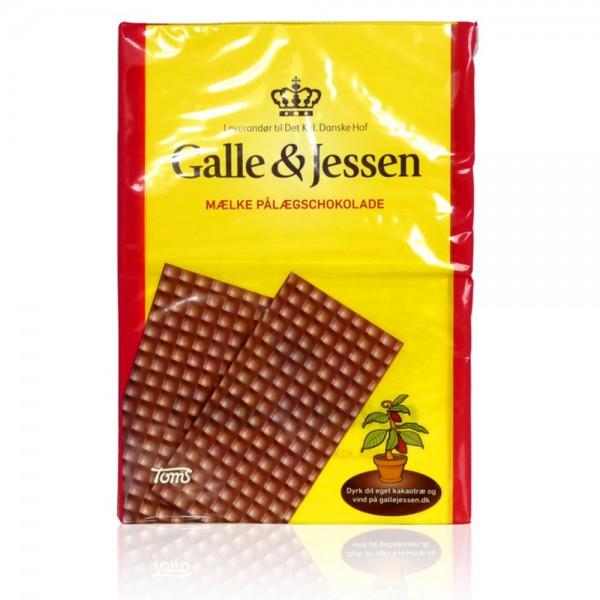 Galle & Jessen Pålægschokolade Lys/Mælk