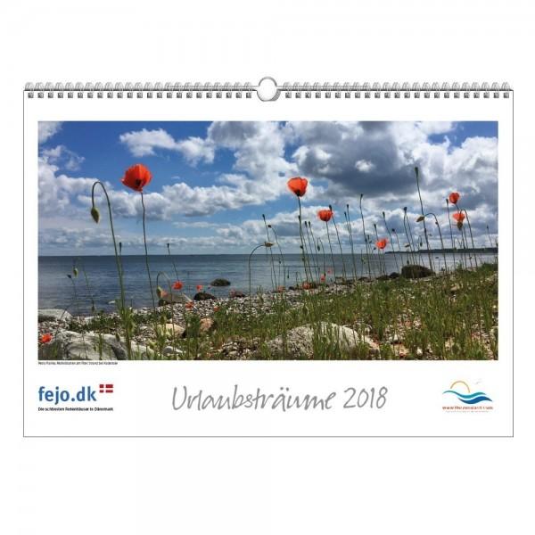 Wandkalender Urlaubsträume 2018