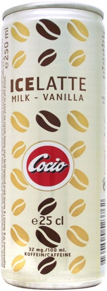 Cocio Icelatte Milch Vanilla