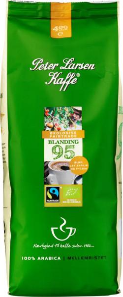 Peter Larsen Blanding 95 Bio Kaffee 100% Arabica