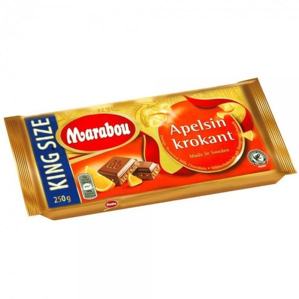 Marabou Apelsin Krokant Schokolade