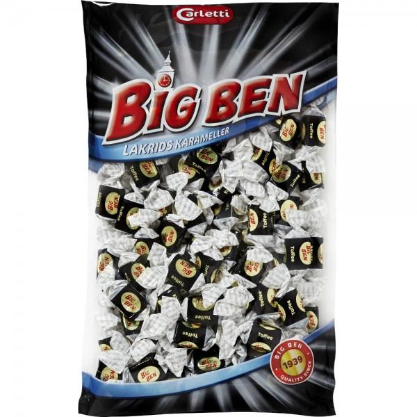 Carletti Big Ben Lakrids Karameller