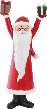 Det Gamle Apotek freudiger Weihnachtsmann