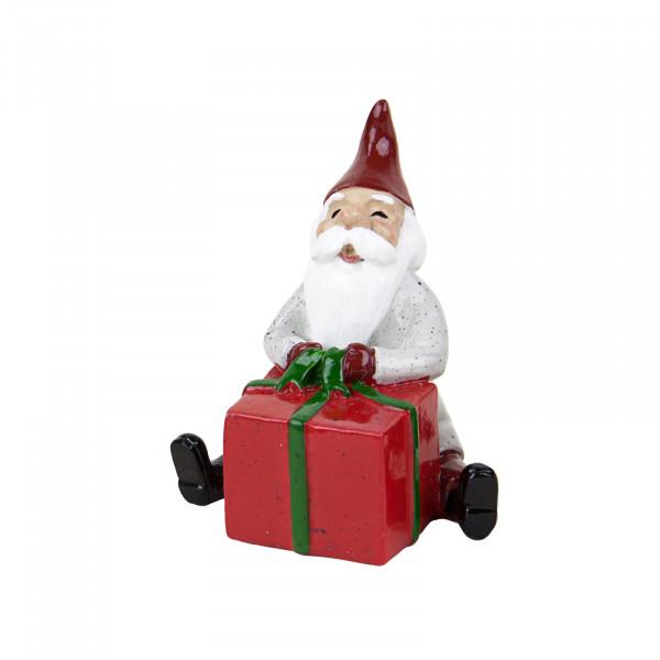 Harvesttime Weihnachtsmann mit rotem Geschenk