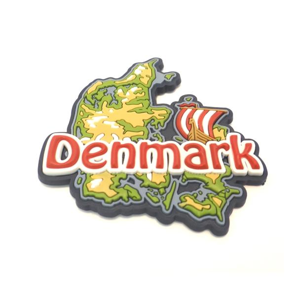 Memories of Denmark Magnet Landkarte