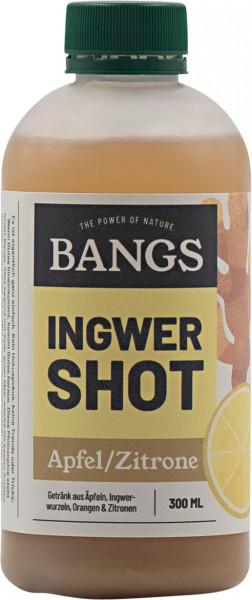 Bangs Ingwer-Shot mit Apfel & Zitrone 300ml