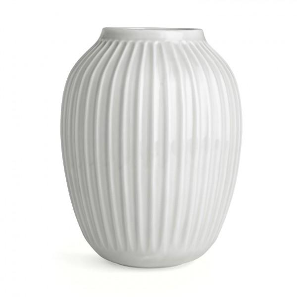 Kähler Design Hammershøi Vase weiß 25 cm