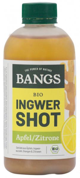 Bangs Bio Ingwer-Shot mit Apfel & Zitrone 300ml