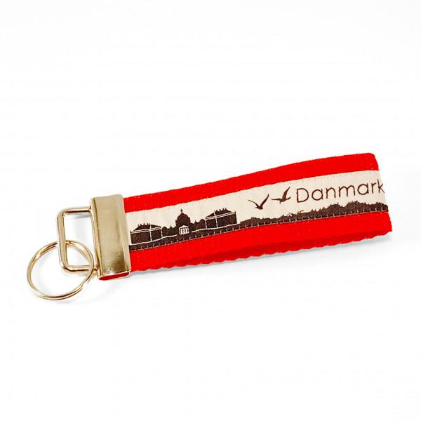 Wichtelfee Dänemark Schlüsselanhänger Rot Schwarz